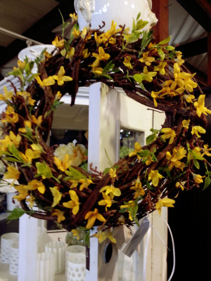 2 Silk wreath