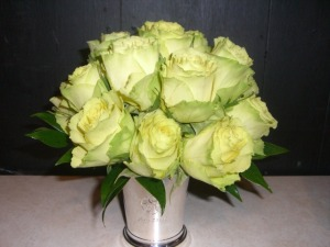 green roses collection