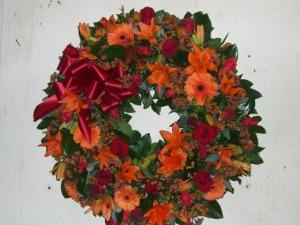 sympathy wreath 2